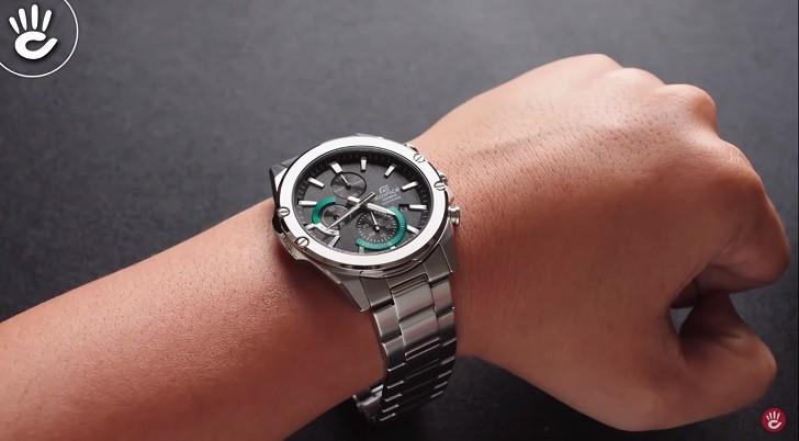 Đồng hồ Casio Edifice EFR-S567D-1AVUDF kính chống trầy - Ảnh: 2