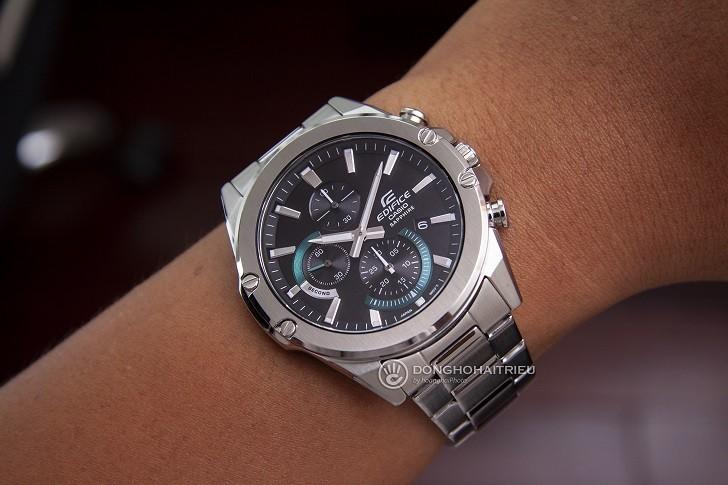 Đồng hồ Casio Edifice EFR-S567D-1AVUDF kính chống trầy - Ảnh: 5