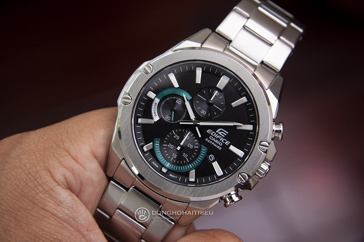 Đồng hồ Casio Edifice EFR-S567D-1AVUDF kính chống trầy - Ảnh: 9