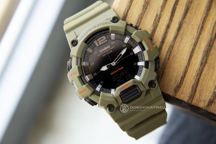 Đồng hồ Casio HDC-700-3A2VDF màu xanh quân đội thời thượng - Ảnh 1