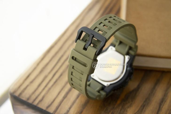 Đồng hồ Casio HDC-700-3A2VDF màu xanh quân đội thời thượng - Ảnh 4