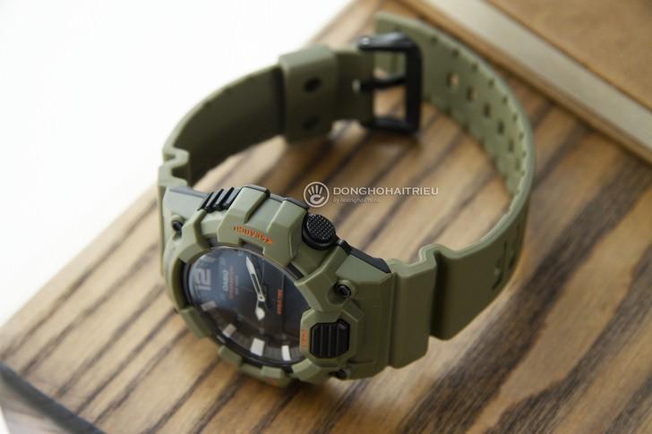 Đồng hồ Casio HDC-700-3A2VDF màu xanh quân đội thời thượng - Ảnh 5