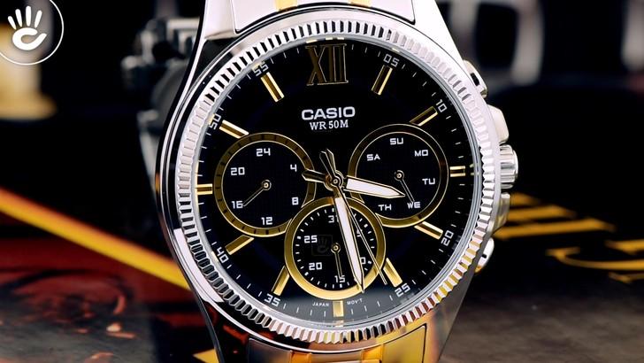 Đồng hồ Casio MTP-E315SG-1AVDF chính hãng, bảo hành 5 năm - Ảnh: 1