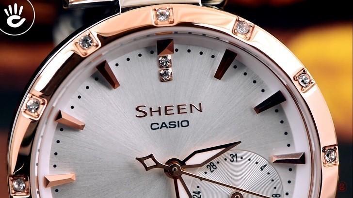 Đồng hồ Casio SHE-4051SPG-7AUDF giá rẻ, thay pin miễn phí - Ảnh 2