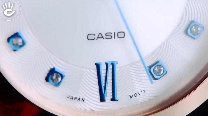 Đồng hồ Casio SHE-4055PG-7AUDF giá rẻ, thay pin miễn phí - Ảnh: 3