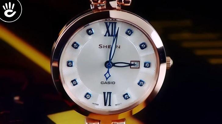 Đồng hồ Casio SHE-4055PG-7AUDF giá rẻ, thay pin miễn phí - Ảnh: 6