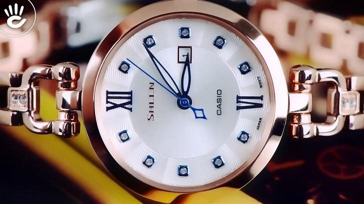Đồng hồ Casio SHE-4055PG-7AUDF giá rẻ, thay pin miễn phí - Ảnh: 7