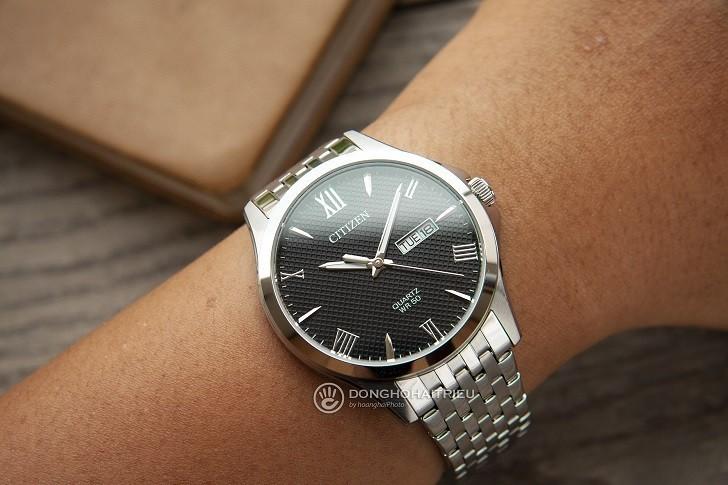 Đồng hồ Citizen BF2020-51E máy quartz, giá rẻ cho nam - Ảnh: 2