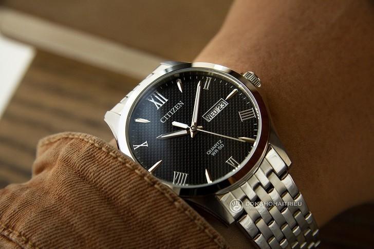 Đồng hồ Citizen BF2020-51E máy quartz, giá rẻ cho nam - Ảnh: 7