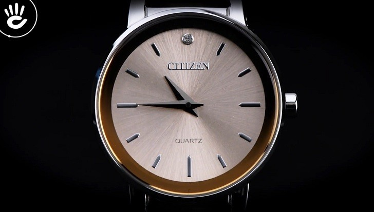 Đồng hồ Citizen EZ6370-56X mặt nhỏ, giá rẻ, đính pha lê - Ảnh: 3