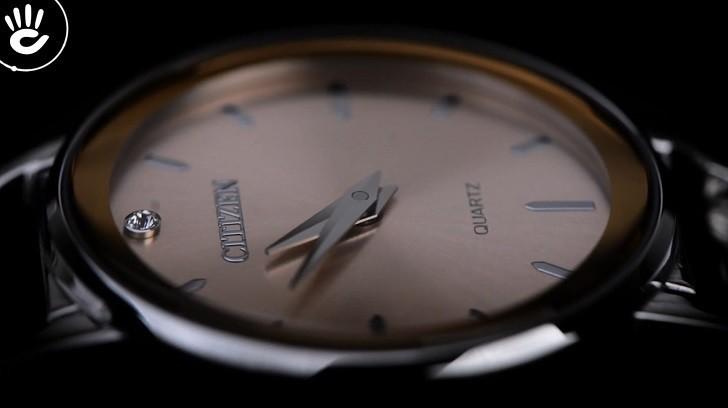 Đồng hồ Citizen EZ6370-56X mặt nhỏ, giá rẻ, đính pha lê - Ảnh: 4