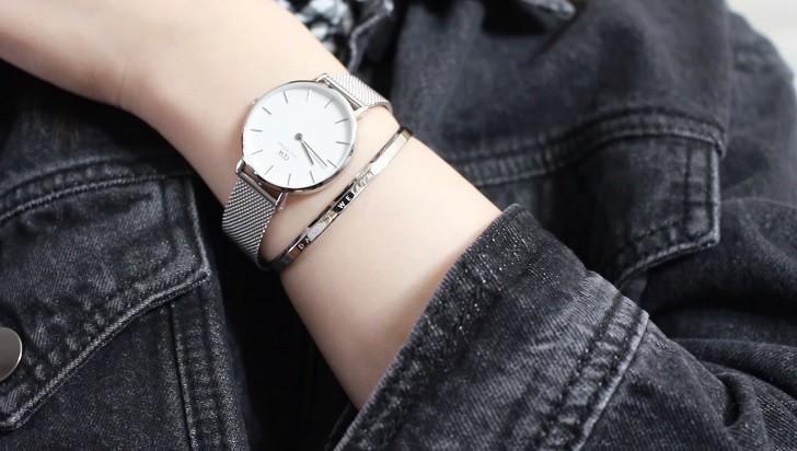 Đồng hồ Daniel Wellington DW00100164 giá rẻ, dây lưới - Ảnh: 3