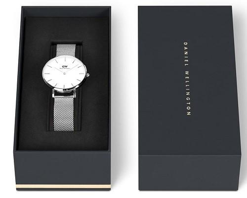 Đồng hồ Daniel Wellington DW00100164 giá rẻ, dây lưới - Ảnh: 8