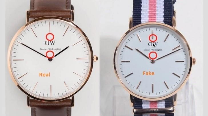 Đồng hồ DW giá 650k là hàng fake, sản xuất tại Trung Quốc - Ảnh: 2