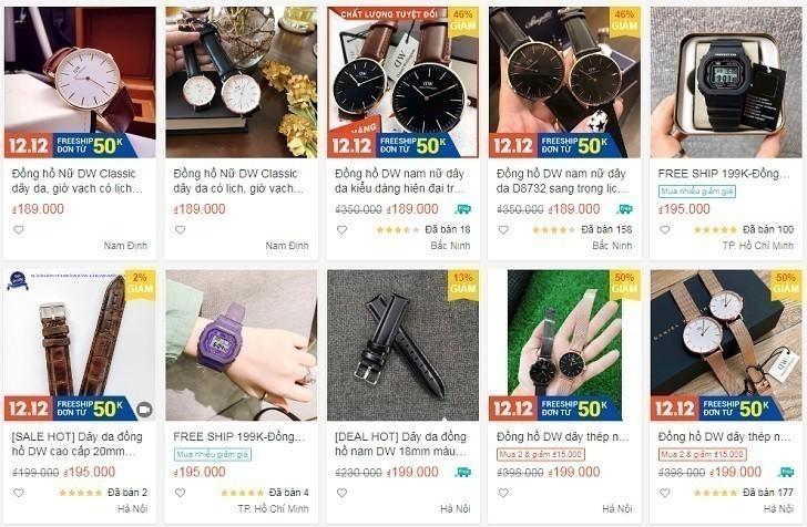 Đồng hồ DW giá 650k là hàng fake, sản xuất tại Trung Quốc - Ảnh: 3