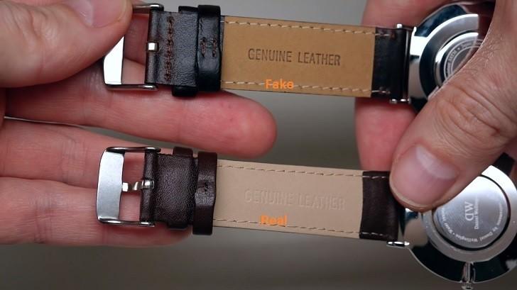 Đồng hồ DW giá 650k là hàng fake, sản xuất tại Trung Quốc - Ảnh: 9