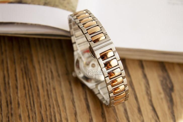 Đồng hồ Doxa D190RCM đính kim cương, máy cơ đẳng cấp - Ảnh: 4
