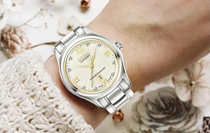 Đồng hồ Doxa D219SCM đính 8 viên kim cương, máy cơ Thụy Sĩ - Ảnh: 7