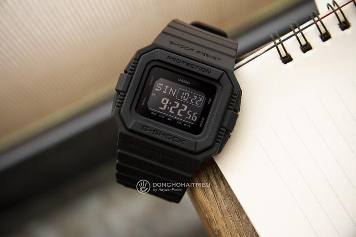 Đồng hồ G-Shock DW-D5500BB-1DR: Hướng về cổ điển quen thuộc - Ảnh 2