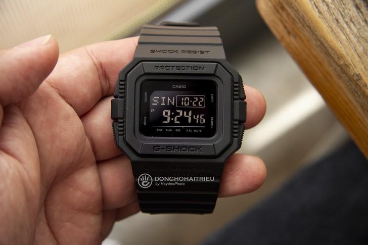 Đồng hồ G-Shock DW-D5500BB-1DR: Hướng về cổ điển quen thuộc - Ảnh 3