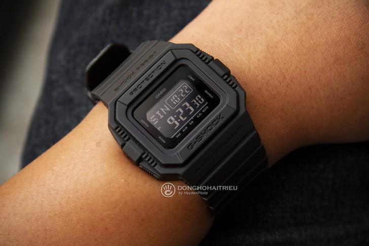 Đồng hồ G-Shock DW-D5500BB-1DR: Hướng về cổ điển quen thuộc - Ảnh 4