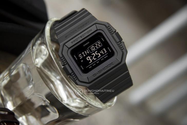 Đồng hồ G-Shock DW-D5500BB-1DR: Hướng về cổ điển quen thuộc - Ảnh 1