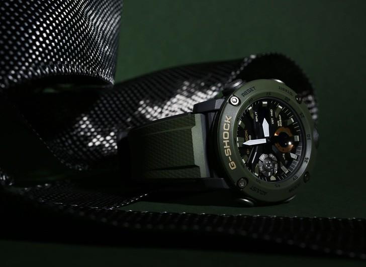 Đồng hồ G-Shock GA-2000-3ADR thoải mái lặn sâu - Ảnh 6