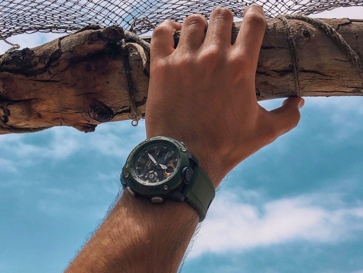 Đồng hồ G-Shock GA-2000-3ADR thoải mái lặn sâu - Ảnh 5