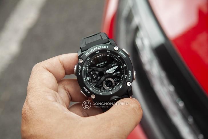 Đồng hồ G-Shock GA-2000S-1ADR giá rẻ, thay pin miễn phí - Ảnh 1