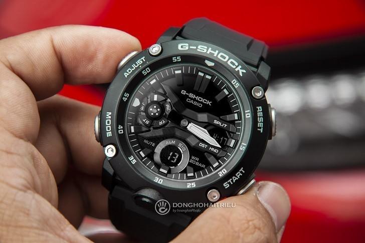 Đồng hồ G-Shock GA-2000S-1ADR giá rẻ, thay pin miễn phí - Ảnh 3