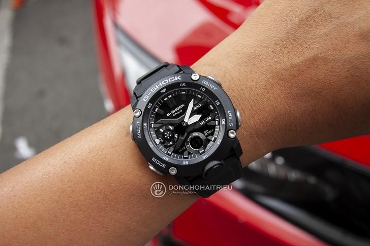 Đồng hồ G-Shock GA-2000S-1ADR giá rẻ, thay pin miễn phí - Ảnh 5