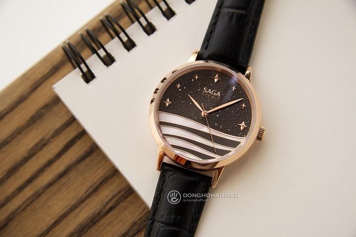 Sự đặc biệt đến từ mẫu đồng hồ nữ Saga 53624 RGBDBK-2 - Ảnh 1