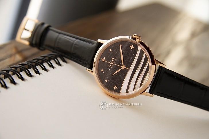 Sự đặc biệt đến từ mẫu đồng hồ nữ Saga 53624 RGBDBK-2 - Ảnh 5