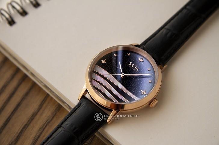 Sự đặc biệt đến từ mẫu đồng hồ nữ Saga 53624 RGBDBK-2 - Ảnh 2