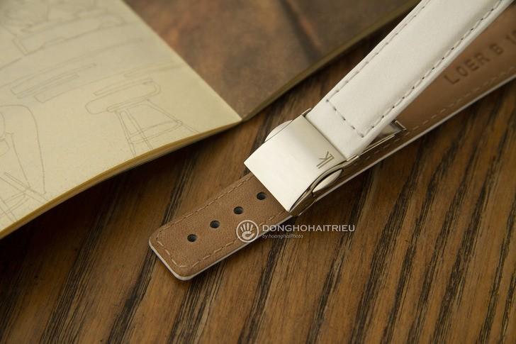 Đồng hồ Seiko SRWZ84P1 tông trắng trẻ trung, có Chronograph - Ảnh 4