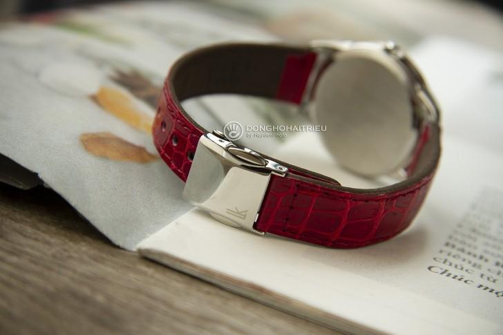 Đồng hồ Seiko SUT370J1 đính đá nổi bật, phối màu trẻ trung - Ảnh 4