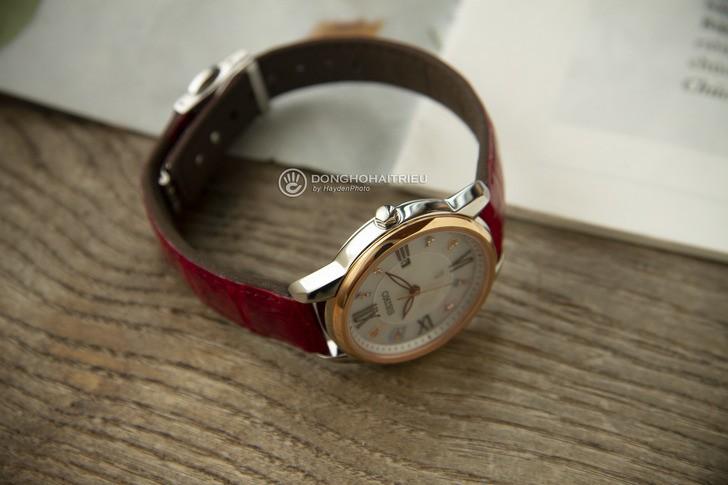 Đồng hồ Seiko SUT370J1 đính đá nổi bật, phối màu trẻ trung - Ảnh 5