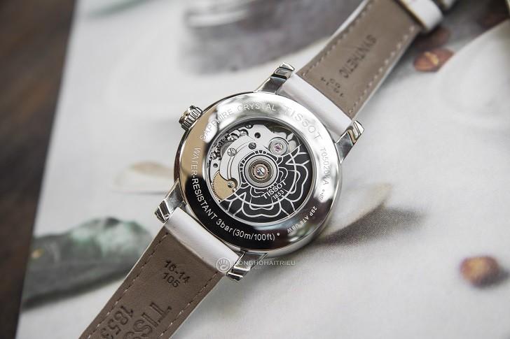 Đồng hồ Tissot T050.207.17.117.04 xà cừ, đính kim cương - Ảnh: 2