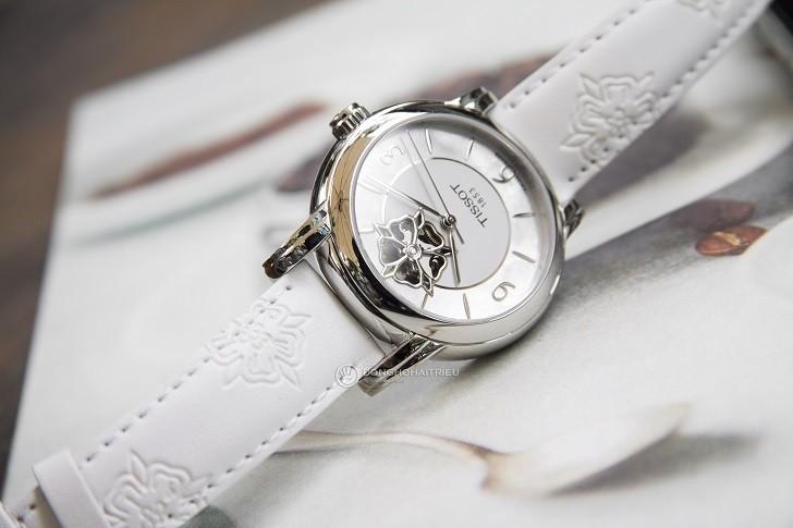 Đồng hồ Tissot T050.207.17.117.04 xà cừ, đính kim cương - Ảnh: 3