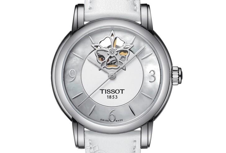 Đồng hồ Tissot T050.207.17.117.04 xà cừ, đính kim cương - Ảnh: 6