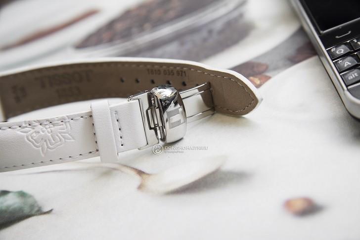 Đồng hồ Tissot T050.207.17.117.04 xà cừ, đính kim cương - Ảnh: 8
