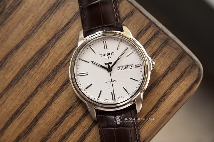 Đồng hồ Tissot T065.430.16.031.00 máy cơ, kim dạ quang - Ảnh: 1