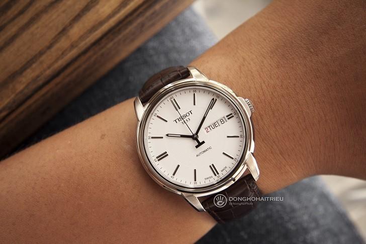 Đồng hồ Tissot T065.430.16.031.00 máy cơ, kim dạ quang - Ảnh: 10