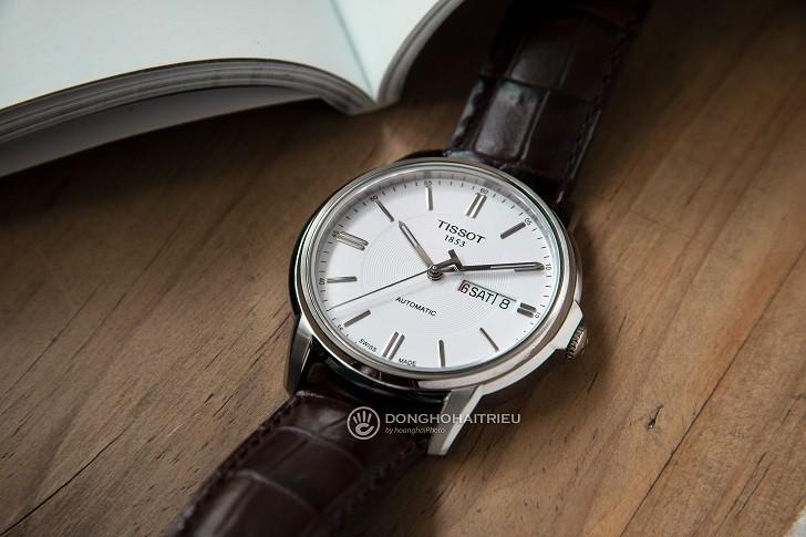 Đồng hồ Tissot T065.430.16.031.00 máy cơ, kim dạ quang - Ảnh: 2