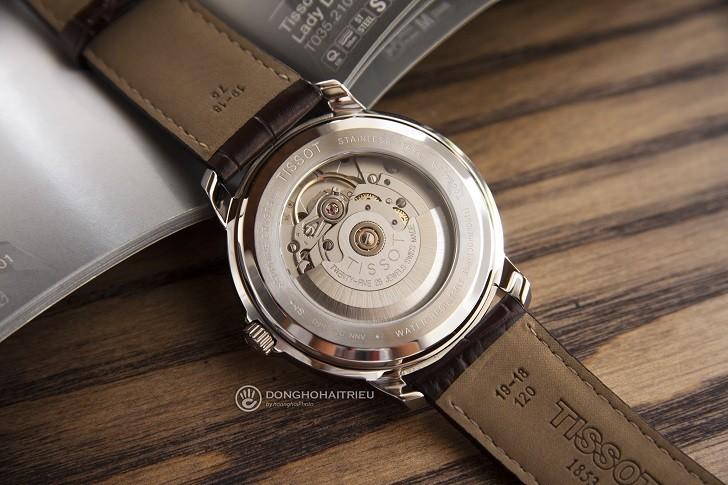 Đồng hồ Tissot T065.430.16.031.00 máy cơ, kim dạ quang - Ảnh: 3