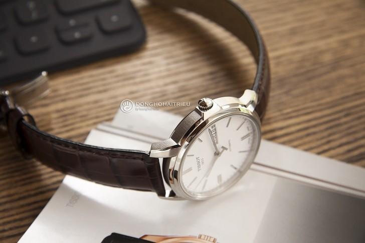 Đồng hồ Tissot T065.430.16.031.00 máy cơ, kim dạ quang - Ảnh: 4