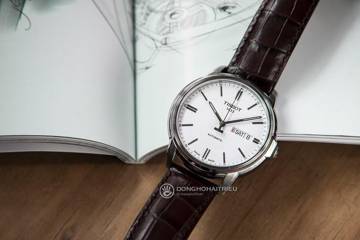Đồng hồ Tissot T065.430.16.031.00 máy cơ, kim dạ quang - Ảnh: 5