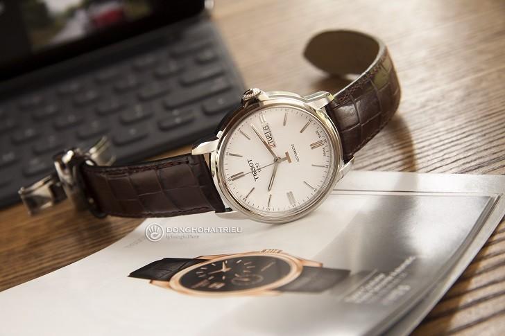 Đồng hồ Tissot T065.430.16.031.00 máy cơ, kim dạ quang - Ảnh: 8