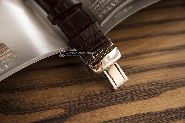 Đồng hồ Tissot T065.430.16.031.00 máy cơ, kim dạ quang - Ảnh: 9