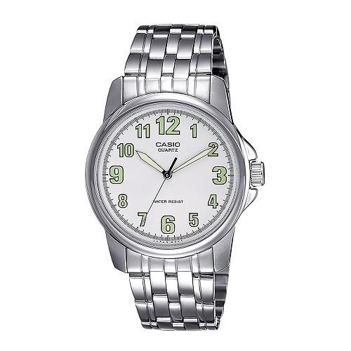 30 đồng hồ nam giá dưới 1 triệu, miễn phí thay pin trọn đời - Ảnh: MTP-1216A-7BDF